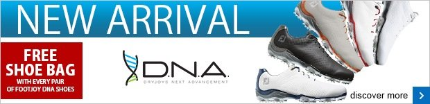 Free shoe bag with a pair of FJ DNA shoes