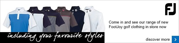 FootJoy clothing range