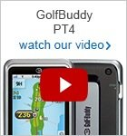 GolfBuddy PT4 touch screen GPS
