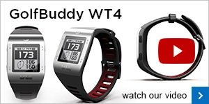 GolfBuddy WT4 GPS watch