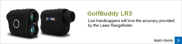 GolfBuddy LR3 laser range finder