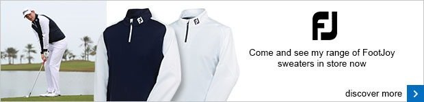FootJoy sweater range