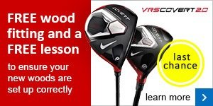 Free fitting and lesson with Nike Covert 2.0 woods