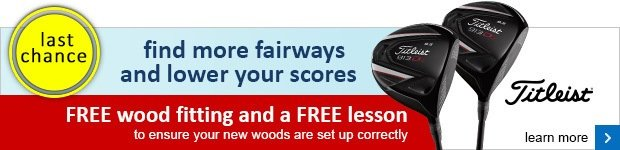 Free fitting and lesson with Titleist 913 woods
