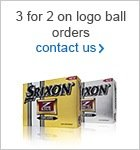 3 for 2 of Srixon logo balls
