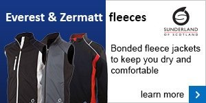 Sunderland Everest and Zermatt fleeces