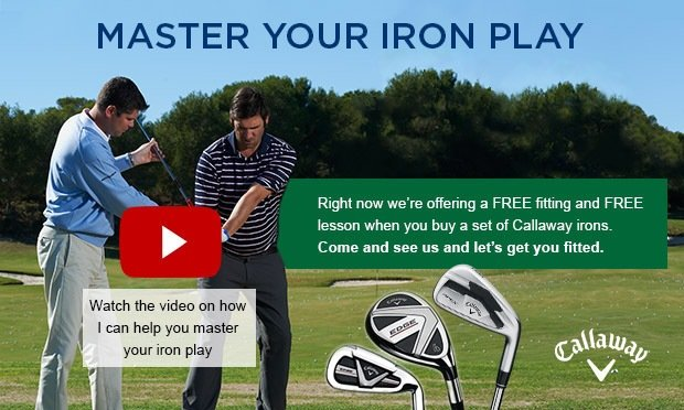Master your iron play- Callaway
