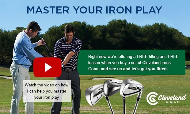 Master your iron play - Cleveland