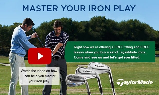 Master your iron play - TaylorMade