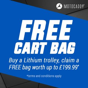Motocaddy Free Cart Bag