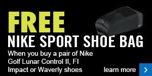 Free Nike shoe bag with selected Nike shoes