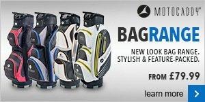 Motocaddy bag range
