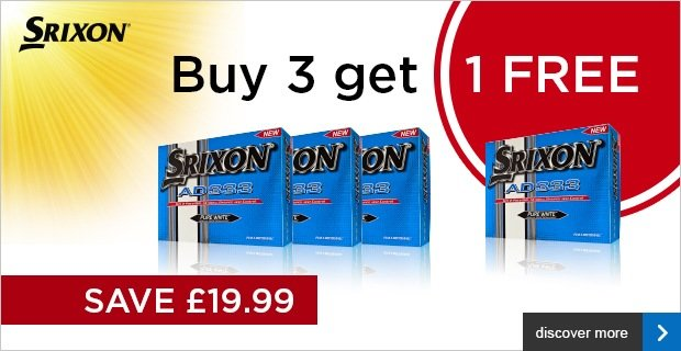 Srixon 4 for 3 on AD333 - £19.99
