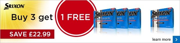 Srixon 4 for 3 on AD333 - £22.99
