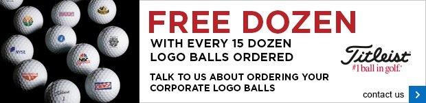 Titleist corporate logo ball 15 + 1 offer