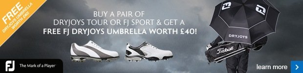 FootJoy Free DryJoys umbrella worth £40
