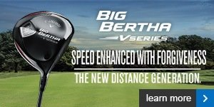 Callaway Big Bertha  V Series woods