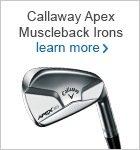 Callaway Apex Muscleback irons