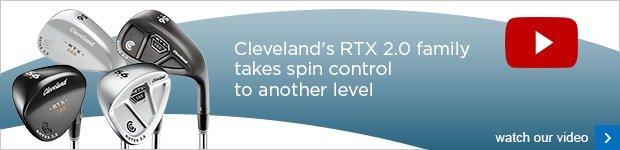 Cleveland 588 RTX 2.0 wedges