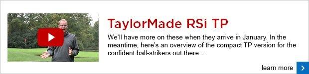 TaylorMade RSi TP irons