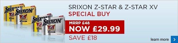 Srixon Z-Star 2014 - Special Buy £29.99