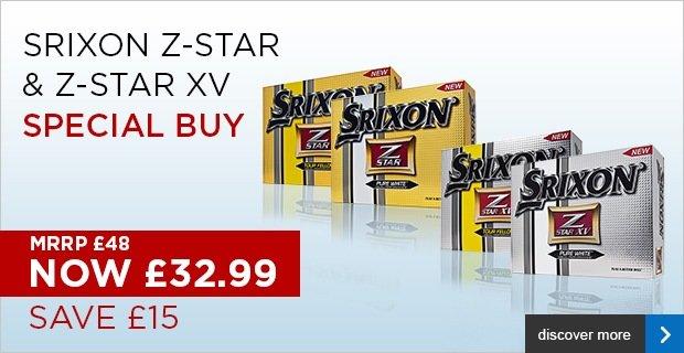 Srixon Z-Star 2014 - Special Buy £32.99
