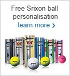 Srixon FREE ball personalisation this Christmas