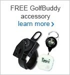 GolfBuddy free accessories offer