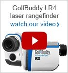 GolfBuddy LR4 laser rangefinder