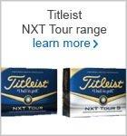 NXT Tour golf ball range
