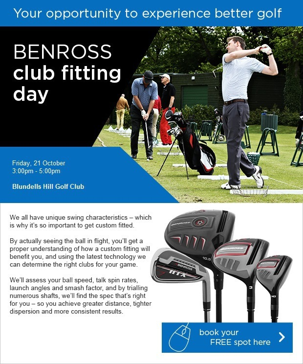 Don't miss our Benross Fitting Day!
