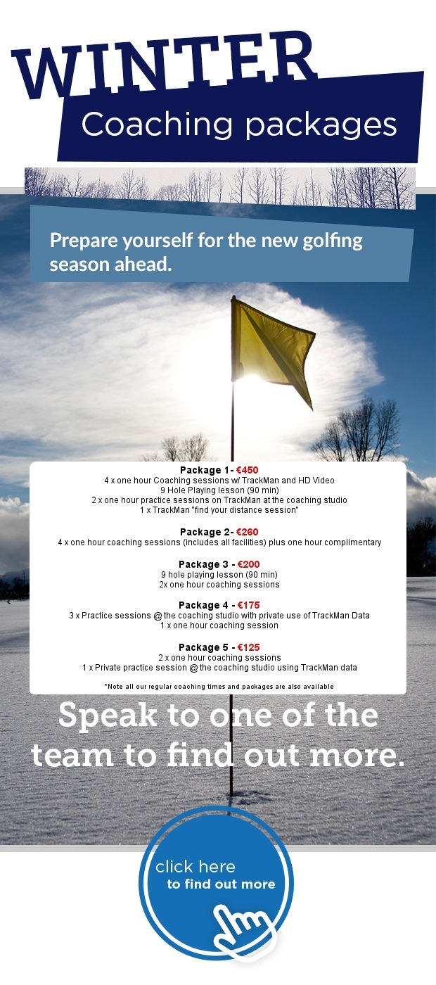 Winter Coaching Packages at Naas Golf Club…