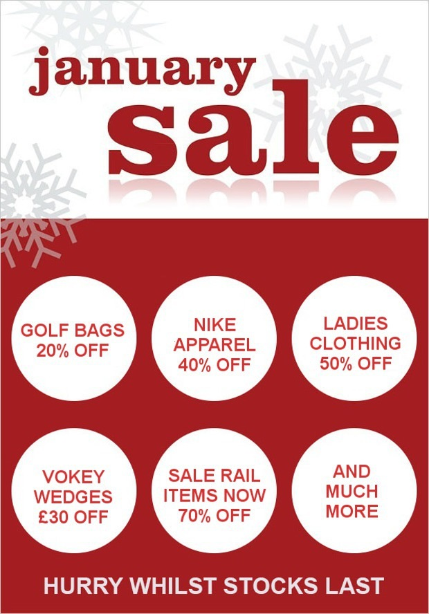 January Sale at Preston