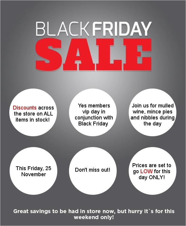Don't miss out on our Black Friday SALE!