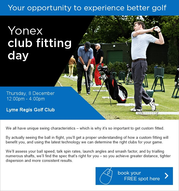 Yonex Fitting/Demo Day at Lyme Regis