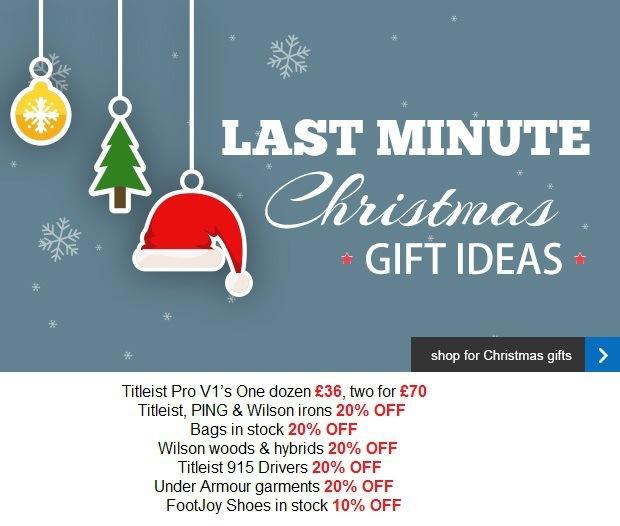 Last minute Christmas gift ideas..