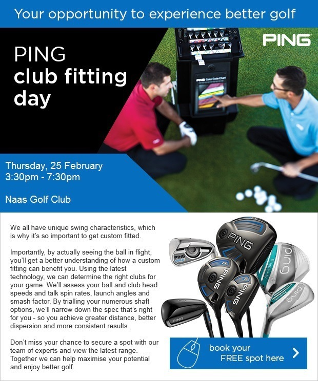 PING fitting day at Naas