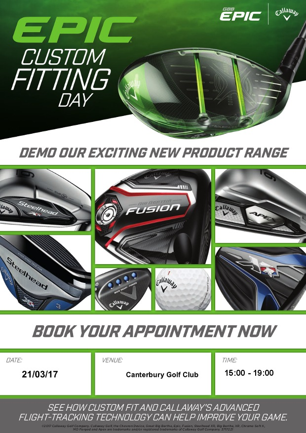 Your personal invitation to our Callaway fitting day