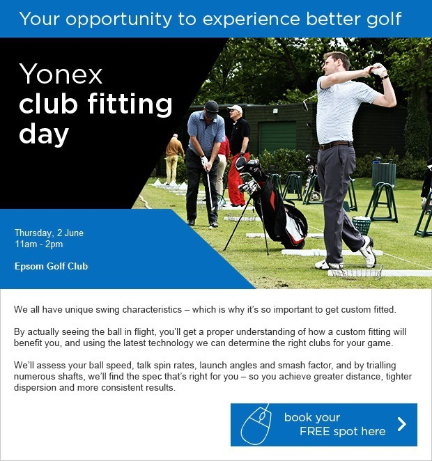 Don't miss our Yonex Fitting Event!