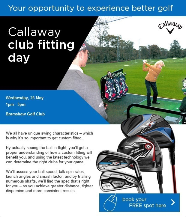 Come and enjoy our Callaway Fitting Day…