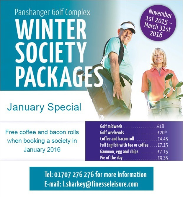 Thinking of bringing a society to Panshanger in 2016?