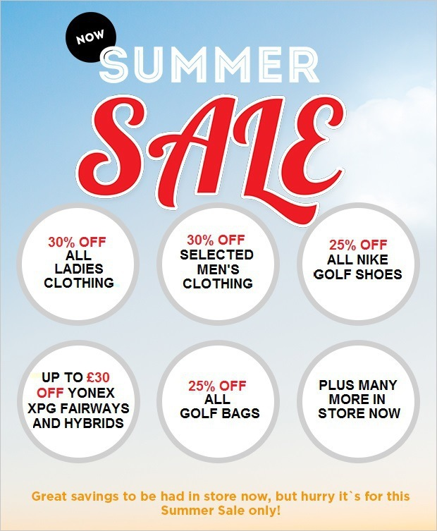 Your chance to grab a bargain in our Summer Sale!
