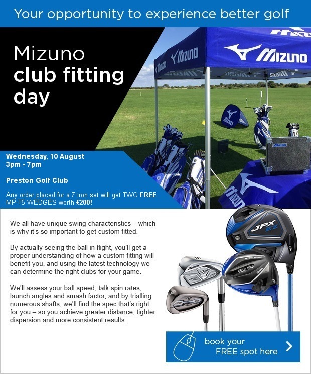 Don't miss our FREE Mizuno fitting day!