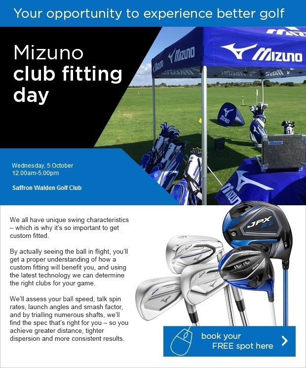 Don't miss our FREE Mizuno fitting day