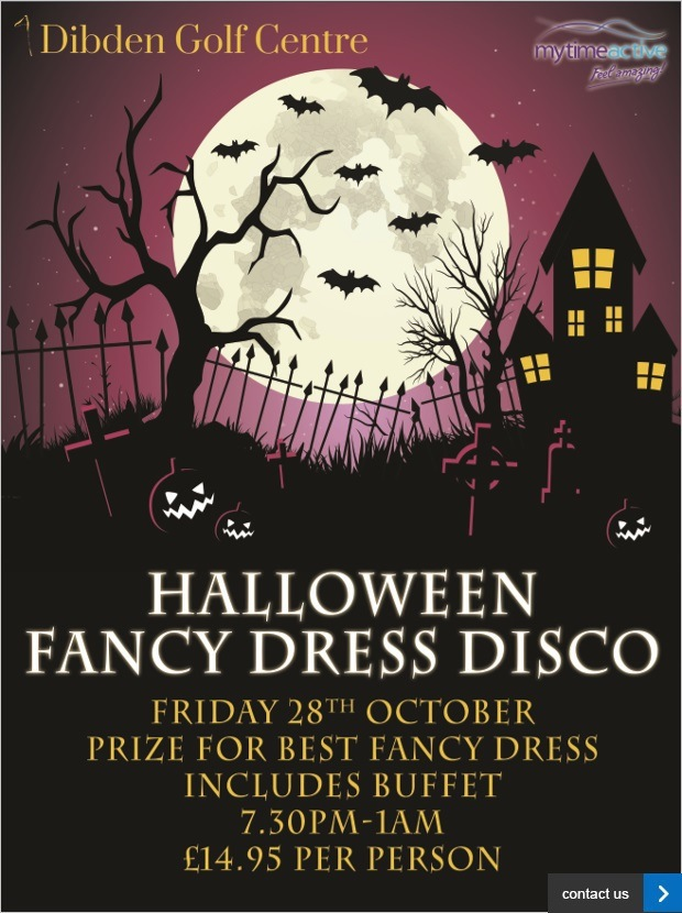 Join us this Halloween at Dibden...