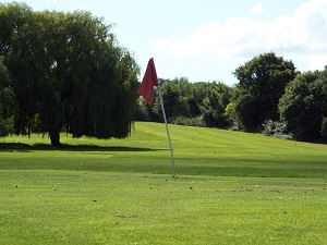 Red Hole 6 Green