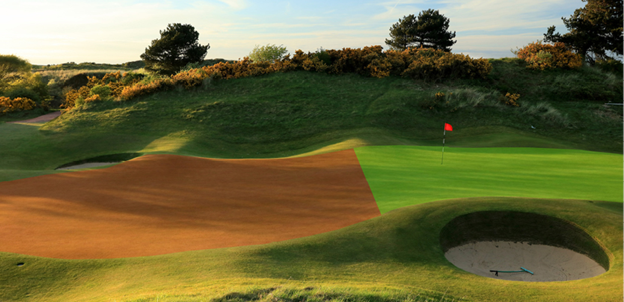 Birkdale 17th green