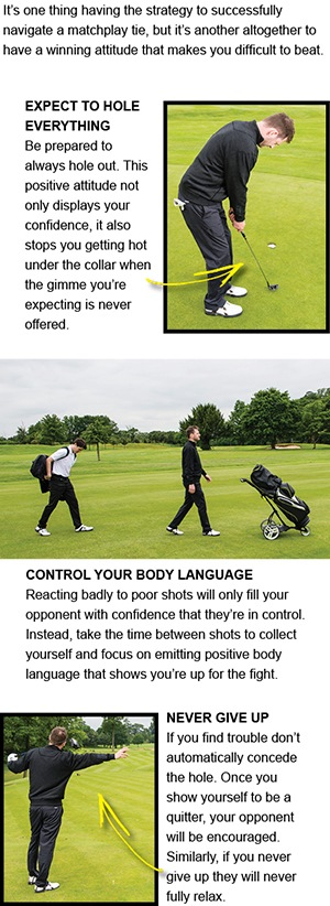 Matchplay golf tips