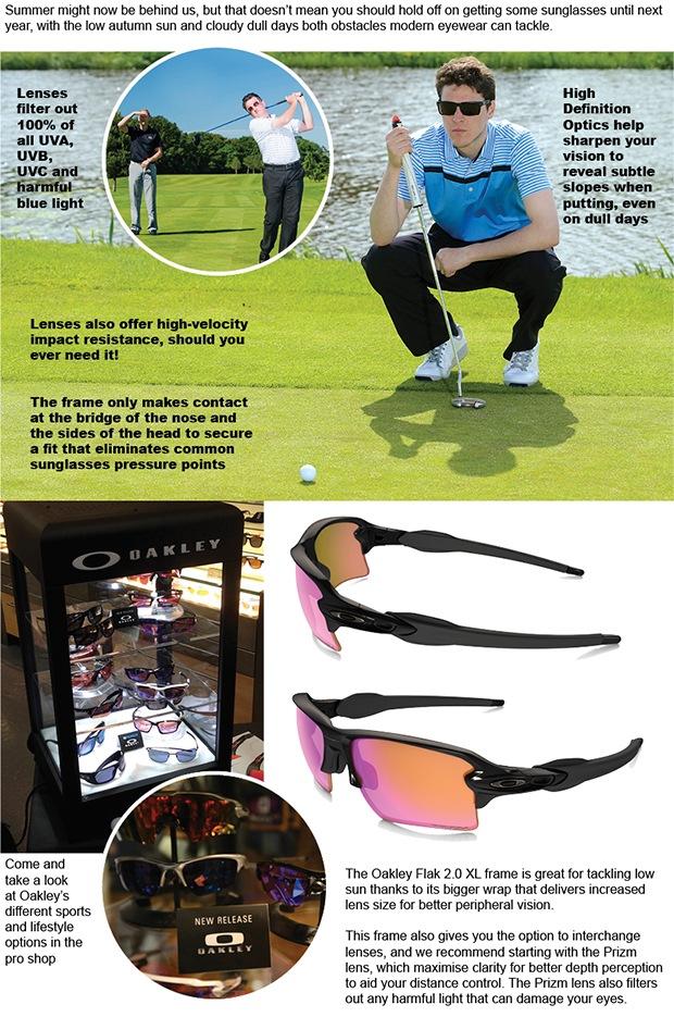 b060a200cdd Golf eyewear has its year-round benefits