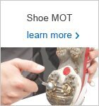Shoe MOT - Half Price Price Spikes Fitted